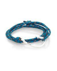 Miansai | Metallic Hook Rope Wrap Bracelet/silvertone for Men | Lyst