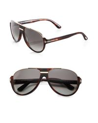 Tom Ford | Black Dimitry Aviator Sunglasses | Lyst