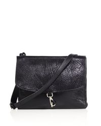 Maison Margiela | Black Grained Leather Shoulder Bag | Lyst