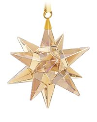 Swarovski | Metallic Star Ornament, Golden Shadow | Lyst
