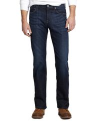 7 For All Mankind | Blue Austyn Relaxed Straight Leg Jeans for Men | Lyst