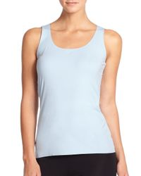 Wolford - Blue Pure Tank Top - Lyst