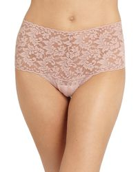 Hanky Panky | Pink Retro Thong | Lyst