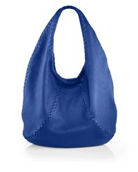 Bottega Veneta | Blue Cervo Large Hobo Bag | Lyst
