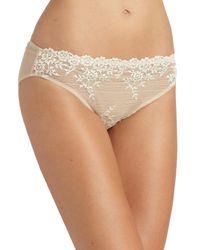 Wacoal | Natural Embrace Lace Bikini | Lyst