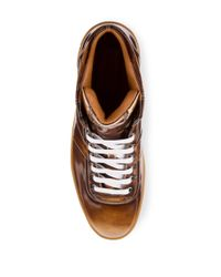 Bally - Brown Lace-up Sneakers for Men - Lyst