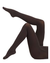 Falke | Gray Pure Matte 100 Opaque Tights | Lyst
