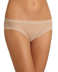 Natori Foundations | Natural Bliss Lace Brief | Lyst