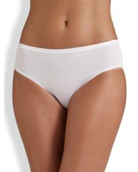 Hanro - White Smooth Touch Full-coverage Brief - Lyst