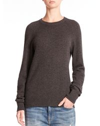 Equipment | Gray Sloane Solid Cashmere Pullover | Lyst