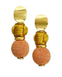 Lizzie Fortunato - Metallic Comporta Cool Earrings - Lyst