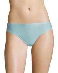 Chantelle - Blue Soft Stretch Seamless Regular Rise Thong - Lyst