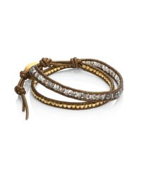 Chan Luu - Multicolor Mystic Smokey Mix Double-wrap Bracelet - Lyst
