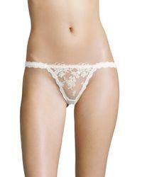 Hanky Panky | White Elizabeth Keyhole Bikini Bottom | Lyst