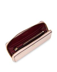 Tory Burch - Multicolor Patent Leather Continental Wallet - Lyst