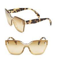 Prada - Multicolor 48mm Oversize Irregular Sunglasses - Lyst