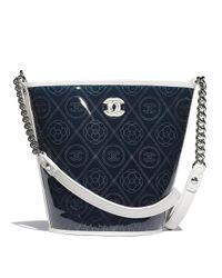 Chanel - White Bucket Bag - Lyst