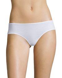 Hanro - White Sea Island Cotton High-cut Briefs - Lyst
