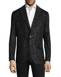 Robert Graham - Black Spruce Paisley Peak-lapel Sportcoat for Men - Lyst