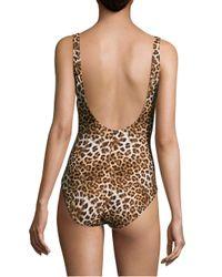 Gottex - Multicolor Cameroon Surplice Swimsuit - Lyst