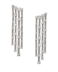 Adriana Orsini - Metallic Decadence Cascade Drop Earrings - Lyst