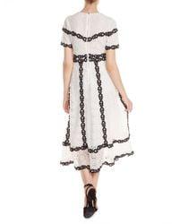 Maje - White Rowan A-line Dress - Lyst