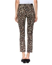 PAIGE - Multicolor Hoxton High-rise Ankle Straight Jeans - Lyst