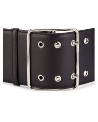 Altuzarra - Black Wide Leather Belt - Lyst