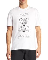 McQ Alexander McQueen - White Printed Tee for Men - Lyst