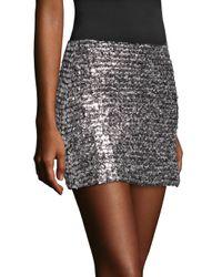 Bailey 44 - Metallic Supreme Sequined Tulle Mini Skirt - Lyst