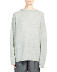 Acne - Gray Dramatic Sweater - Lyst