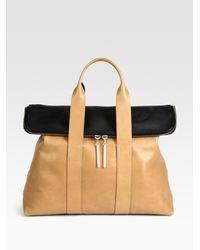 3.1 Phillip Lim - Natural 31 Hour Colorblock Bag - Lyst