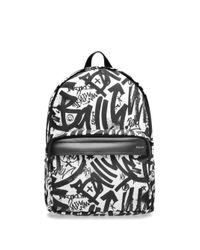 Bally Black Wolfson Nylon Backpack