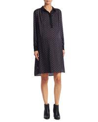 HATCH - Black Collared Shirt Dress - Lyst