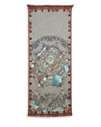 Etro Multicolor Cashmere & Silk Stole