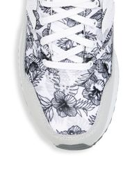 New Balance - White 530 Printed Sneakers - Lyst