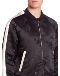 Ovadia And Sons - Black Souvenir Bomber Jacket for Men - Lyst