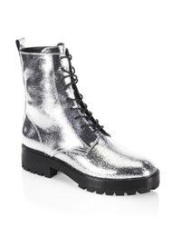 Michael Kors | Metallic Gita Boots | Lyst