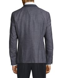Strellson - Blue Tweed Two-button Sportcoat for Men - Lyst