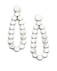John Hardy - Metallic Dot Sterling Silver Teardrop Earrings - Lyst