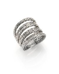 John Hardy - Metallic Classic Chain Sterling Silver Multi-band Ring - Lyst