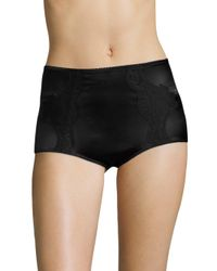Dolce & Gabbana - Black Satin Lace Bloomer Shorts - Lyst