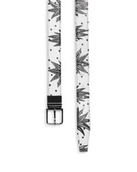 Dolce & Gabbana - Multicolor Reversible Printed Leather Belt for Men - Lyst
