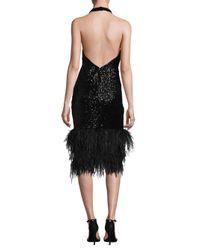 MILLY - Black Amelia Dress - Lyst
