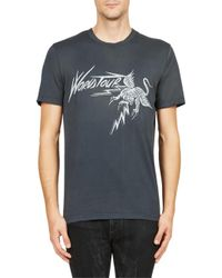 Givenchy - Black World Tour Tee for Men - Lyst