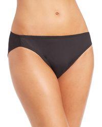 Fortnight - Black Seamless Bikini Brief - Lyst