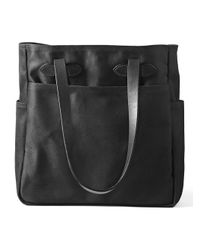 Filson - Black Open-top Tote Bag - Lyst
