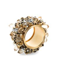 Mackenzie-Childs - Metallic Embellished Napkin Ring - Lyst