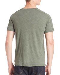 Splendid Mills - Multicolor V-neck Short Sleeve Tee for Men - Lyst