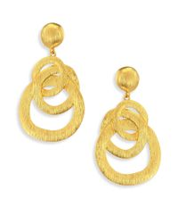 Nest - Metallic Chain Link Drop Earrings - Lyst